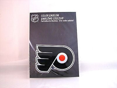 Philadelphia Flyers Die Cut Color Auto Emblem