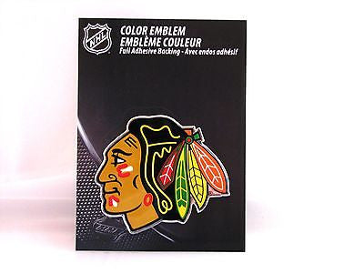 Chicago Blackhawks Die Cut Color Auto Emblem