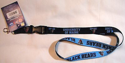 "Maine Black Bears 22"" Lanyard with Detachable Buckle"