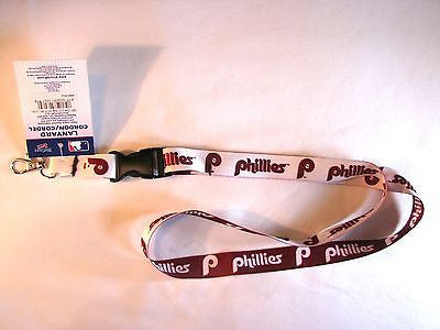 "Philadelphia Phillies Retro Logo 22"" Lanyard with Detachable Buckle"
