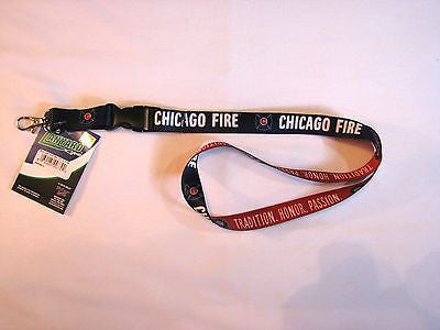 "Chicago Fire 22"" Lanyard with Detachable Buckle"