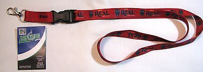 "Real Salt Lake 22"" Lanyard with Detachable Buckle"