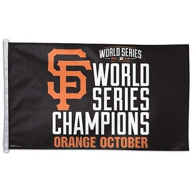 San Francisco Giants 2014 World Series Champions 3'x5' Flag