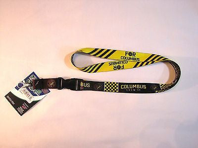 "Columbus Crew (New Logo) 22"" Lanyard with Detachable Buckle"