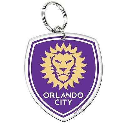 Orlando City SC Premium Acrylic Key Ring