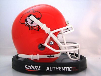 Oklahoma State Cowboys Orange Pistol Pete Schutt Mini Helmet - Alternate 5