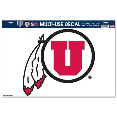 "Utah Utes 11""x17"" Ultra Decal Sheet"