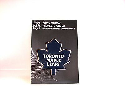 Toronto Maple Leafs Die Cut Color Auto Emblem