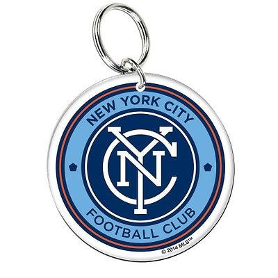New York City FC Premium Acrylic Key Ring