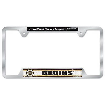 "Boston Bruins 6""x12"" Metal License Plate Frame"