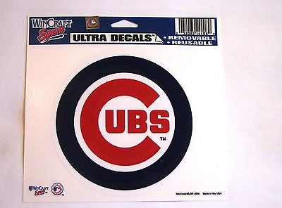 "Chicago Cubs 5""x6"" Decal"