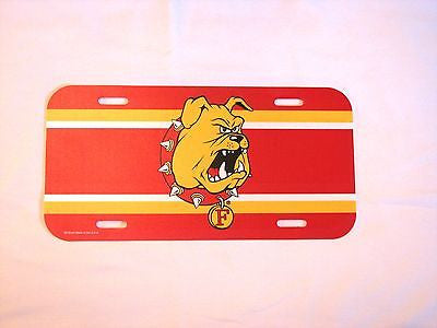 Ferris State Bulldogs Plastic License Plate