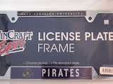 "East Carolina Pirates 6""x12"" Metal License Plate Frame 2"
