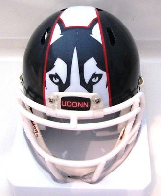 UConn Huskies Blue Riddell Speed Mini Helmet