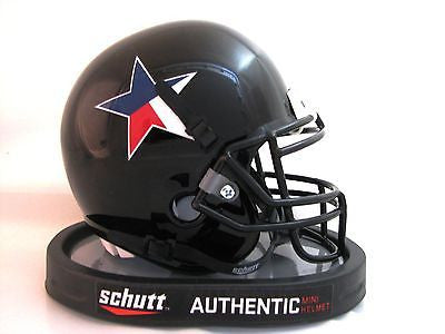 Texas Tech Red Raiders Star & State Logo Schutt Mini Helmet - Alternate 3