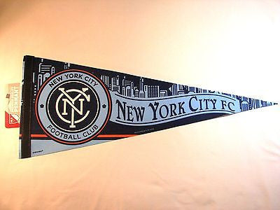 "New York City FC 12""x30"" Premium Pennant"