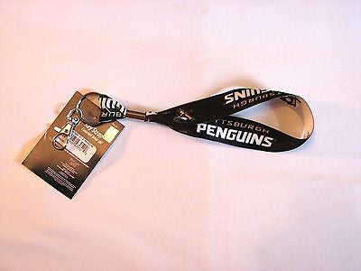 Pittsburgh Penguins Wristlet Lanyard Key Strap