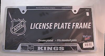 "Los Angeles Kings 6""x12"" Metal License Plate Frame"