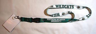 "Northern Michigan Wildcats 22"" Lanyard with Detachable Buckle"