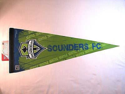 "Seattle Sounders FC 12""x30"" Premium Pennant"