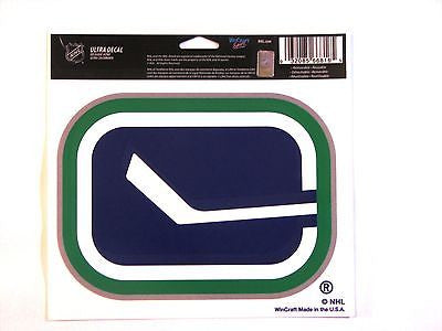 "Vancouver Canucks Alternate Logo 5""x6"" Decal"