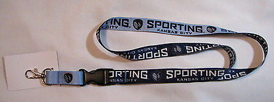 "Sporting Kansas City 22"" Lanyard with Detachable Buckle"