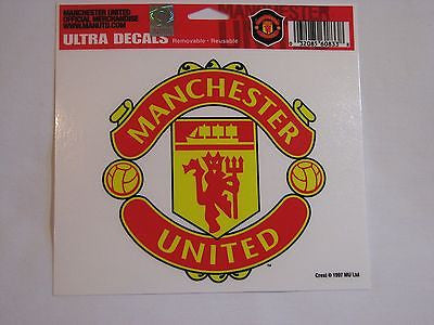 "Manchester United Red Devils 5""x6"" Decal"