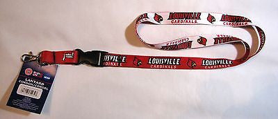 "Louisville Cardinals 22"" Lanyard with Detachable Buckle"