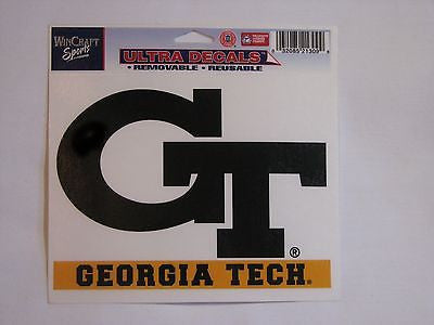 "Georgia Tech Yellow Jackets 5""x6"" Decal"