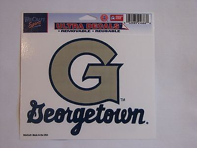 "Georgetown Hoyas 5""x6"" Decal"