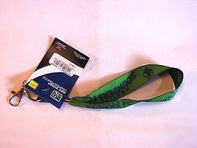 Seattle Sounders FC Wristlet Lanyard Key Strap