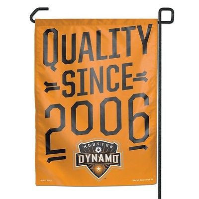 "Houston Dynamo 11""x15"" Garden Flag"