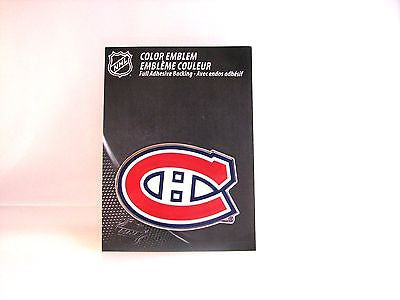 Montreal Canadiens Die Cut Color Auto Emblem