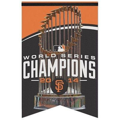 "San Francisco Giants 2014 World Series Champions 17""x26"" Premium Banner"