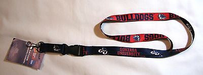 "Gonzaga Bulldogs 22"" Lanyard with Detachable Buckle"