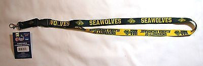 "Alaska Anchorage Seawolves 22"" Lanyard with Detachable Buckle"