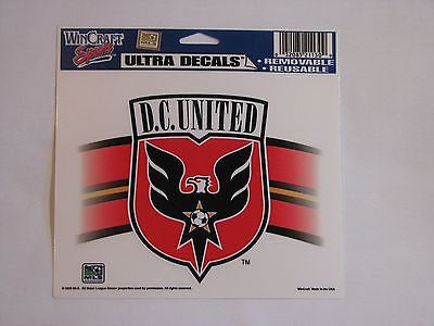 "D.C. United 5""x6"" Decal"