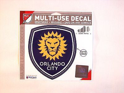 "Orlando City SC 5""x6"" Decal"
