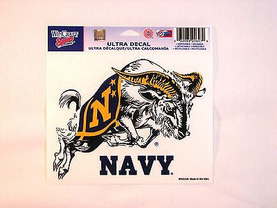 "Navy Midshipmen 5""x6"" Decal"