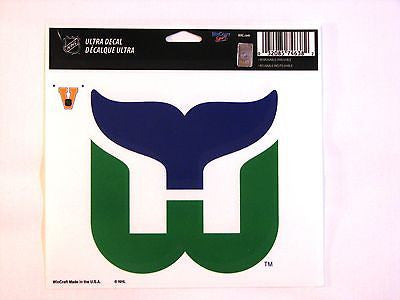"Hartford Whalers 5""x6"" Decal"