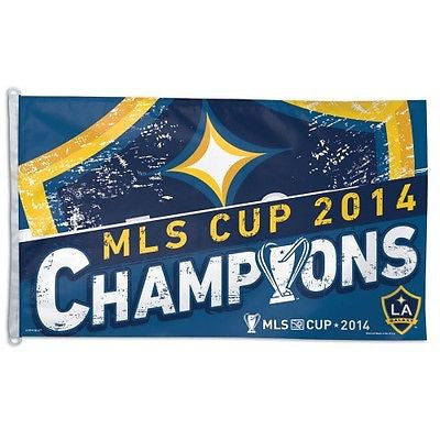 Los Angeles Galaxy 2014 MLS Cup Champions 3'x5' Flag