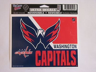 "Washington Capitals 5""x6"" Decal"