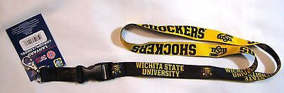 "Wichita State Shockers 22"" Lanyard with Detachable Buckle"