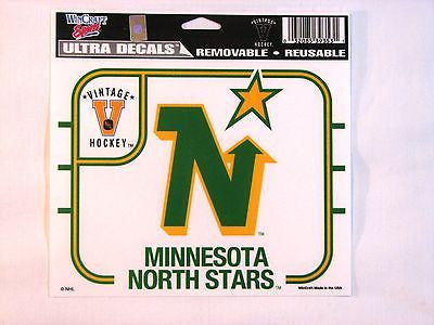 "Minnesota North Stars 5""x6"" Decal"
