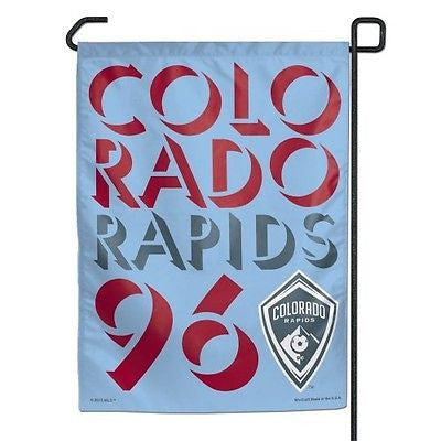 "Colorado Rapids 11""x15"" Garden Flag"