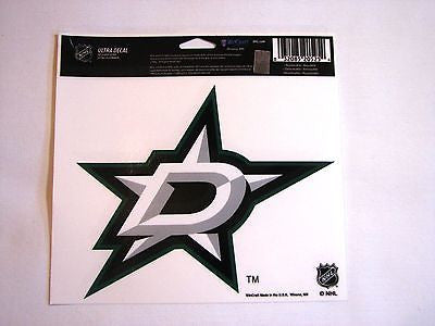 "Dallas Stars 5""x6"" Decal"