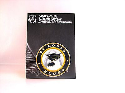 St. Louis Blues Die Cut Color Auto Emblem