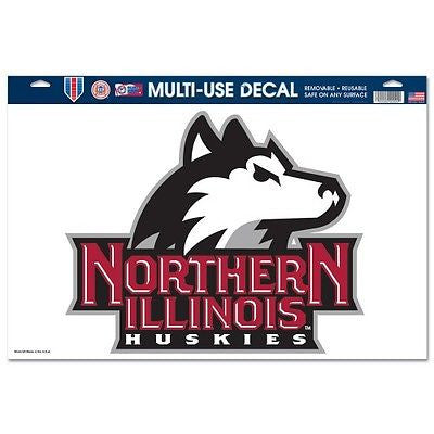 "Northern Illinois Huskies 11""x17"" Ultra Decal Sheet"