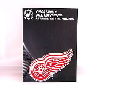 Detroit Red Wings Die Cut Color Auto Emblem