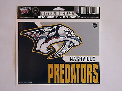 "Nashville Predators 5""x6"" Decal"